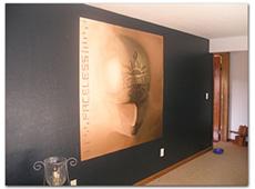 Mural of Godsmack Album Cover
