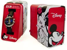 Disney Watch Tin Packaging