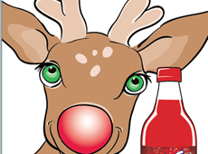 Big Red Rudolph Christmas