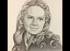 Girl Pencil Portrait
