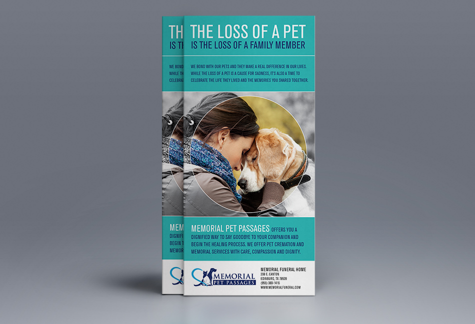 Memorial Pet Passages Flyer