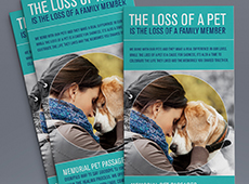 Memorial Pet Passages Flyer