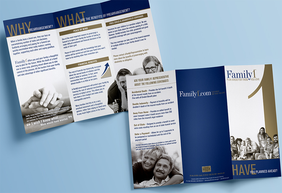 Family1 Trifold Brochure