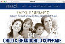 Family1.com Website Design