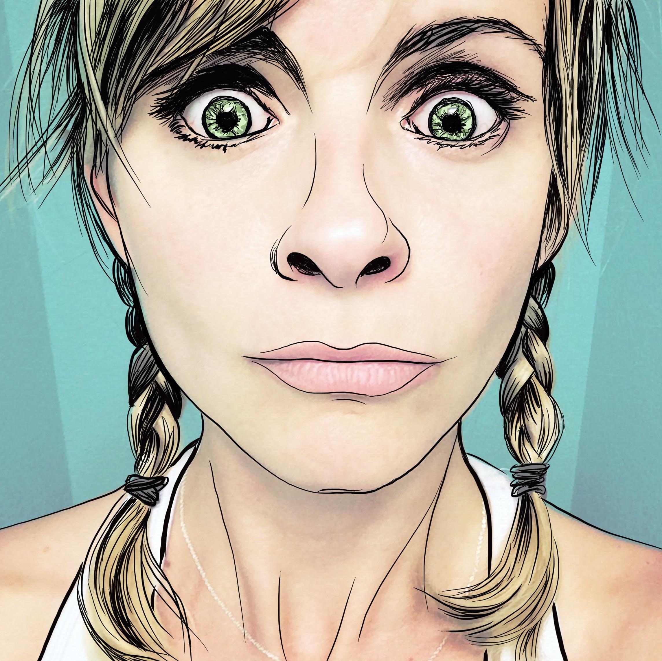 Goofy Self Portrait