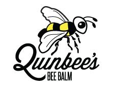 Quinbee's Bee Balm Logos