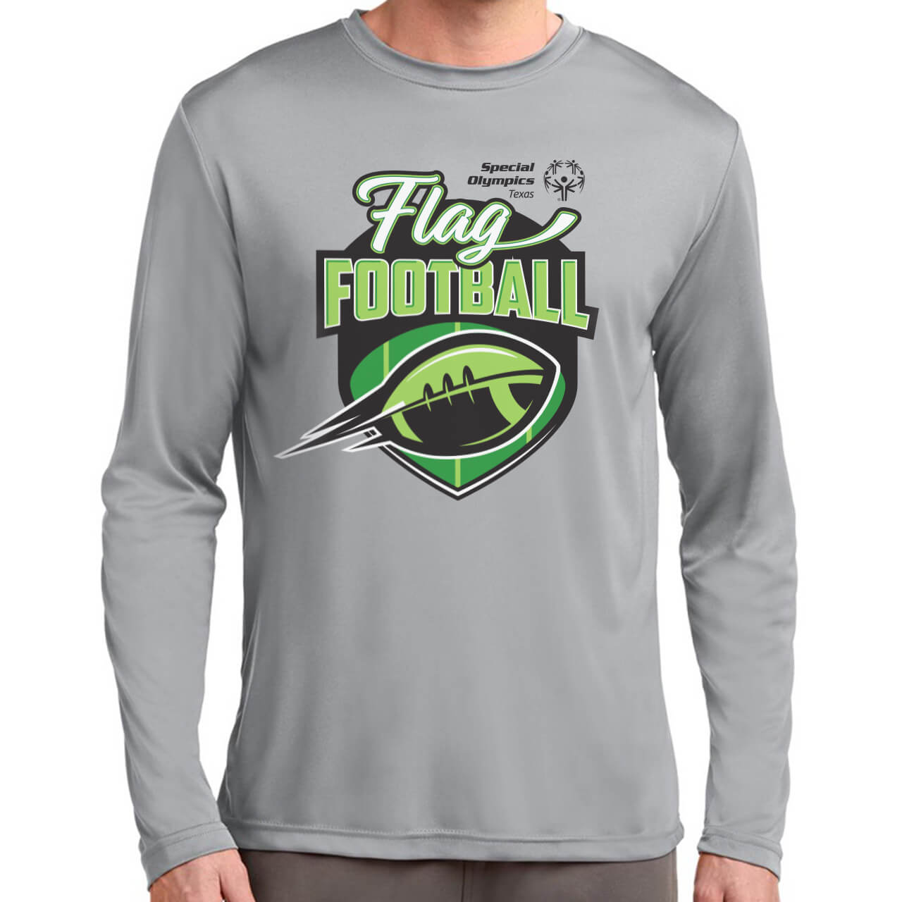 Special Olympics Texas Flag Football Logo / Shirt