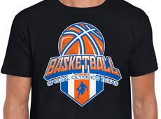 Special Olympics Texas Basketball Logo / Shirt