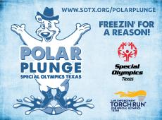 Special Olympics Texas Polar Plunge Identity