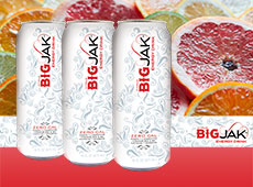 Big Jak Citrus Energy Drink Can