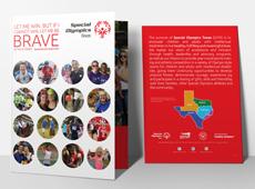 Pocket Folder for Special Olympics Texas